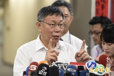 柯媽鼓吹選總統?柯P:我媽代表台灣知識份子的焦慮
