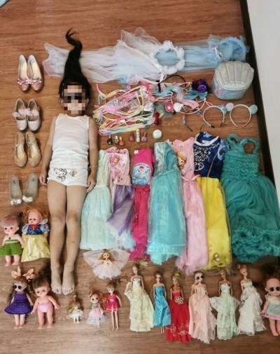 「公主病」開箱文!媽媽列超長清單 女兒洋裝、髮飾、芭比娃娃...
