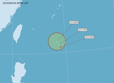 東部外海熱帶低壓起死回生! 「塔巴」颱風最快明生成