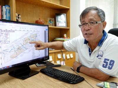 從土壤液化推論  中正學者認為梅山斷層可能往西延伸