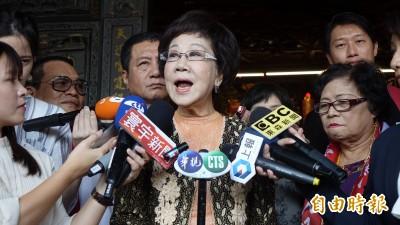 扁指「天命已過」 呂秀蓮:當選將宣布台灣是宗教王國