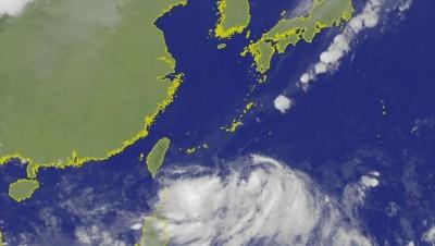 登陸後強度恐增加!準颱風「塔巴」模擬路徑圖曝光