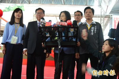 反駁卡韓說 蔡英文:希望高雄治安讓市民安心