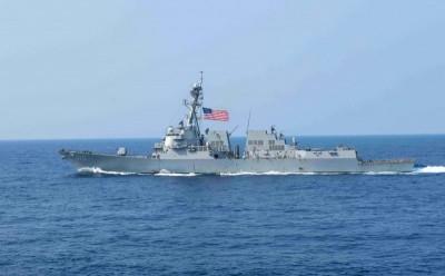 中國強挖友邦敏感時刻 美國軍艦今通過台灣海峽!