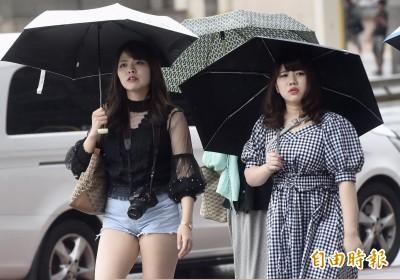 輕颱塔巴今明最接近台灣 夜晚至明天雨勢明顯!
