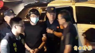直播主大亂鬥!連千毅銬回高雄 鄭又仁也被拘捕到案