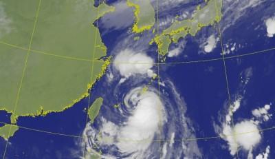 恐生成12級風暴風圈!「塔巴」最新模擬路徑圖曝光