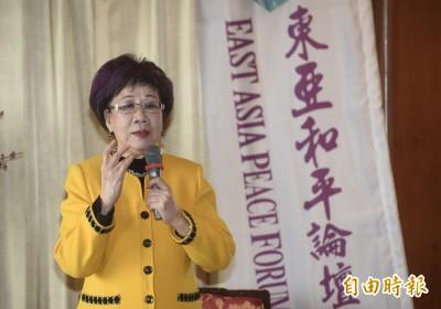 呂秀蓮宣布參選 「資深馬粉」背後支持