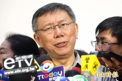 中國介入台灣選舉 柯:從未成功還常有反效果