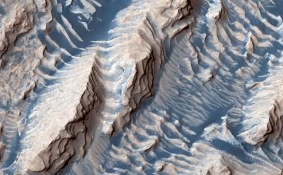 你從沒看過的火星!藍色沙子猶如夢幻仙境