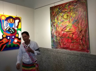 原住民梵谷來了! 阿信‧沙華克於大雅原住民中心開展
