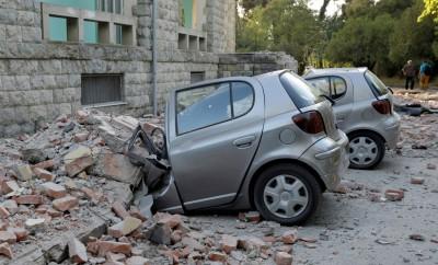阿爾巴尼亞30年來最強地震 逾百棟房屋損毀傳80傷