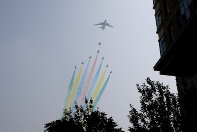 中國國慶將到 北京進入「臨戰」狀態