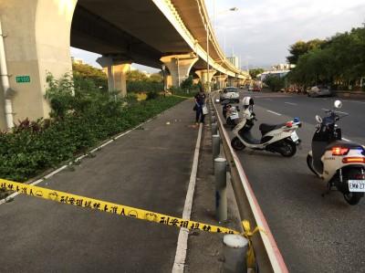 65線高架快速道路 男從5樓高墜下當場死亡