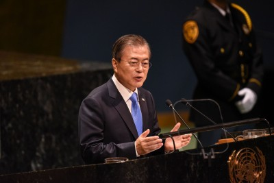 倡「國際和平區」 文在寅聯合國演說:朝鮮半島成橋梁國家