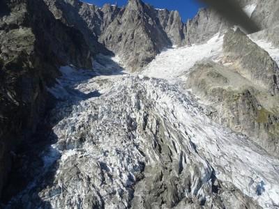 白朗峰部分冰川恐融化崩塌  義大利疏散住民