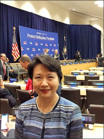 台官員獲邀進聯合國  美國務院支持台國際參與