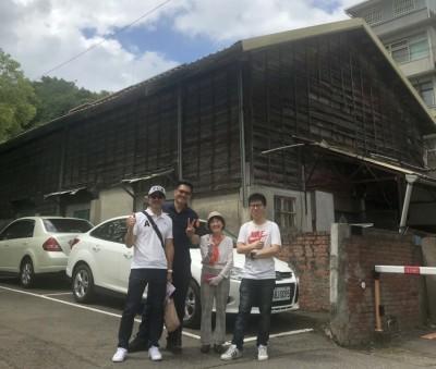 竹東警分局舊日式宿舍將拆 日籍老婦看新聞來台尋兒時回憶