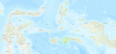 印尼發生芮氏規模6.5強震 尚未傳出傷亡消息