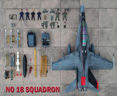 軍機首例! 大馬空軍開箱F/A-18「大黃蜂」戰機