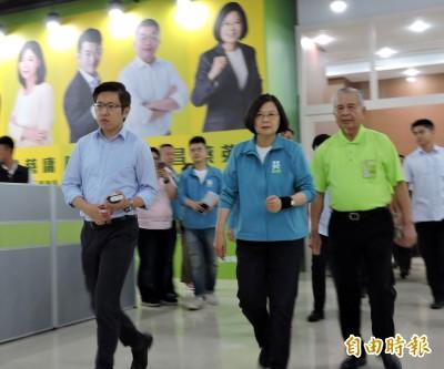 何韻詩被潑漆 蔡英文:千萬不要挑戰台灣民主法治