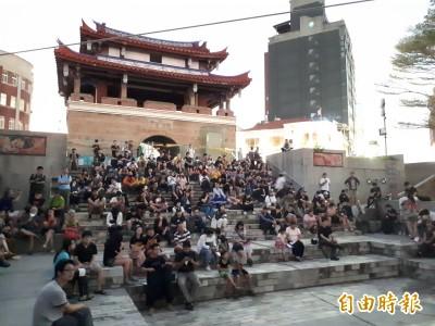 929撐香港 新竹場「自由,一點都不能少」行動聲援