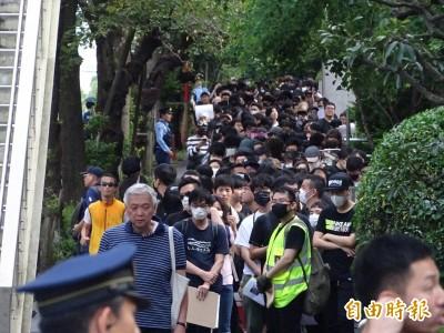 直擊》600名在日港人、台灣留學生  東京同步撐香港