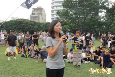 台港大遊行 洪慈庸:身為人母不希望下一代上街爭民主