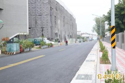 等了30多年 台南這條路終於拓寬完工通車