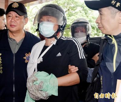 涉對何韻詩潑紅漆 嫌竟稱:「反對港獨暴力來台灣」