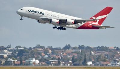嚇死!澳航班機輪胎空中爆炸 立刻返航降落