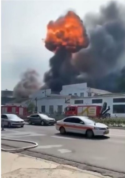 中共官媒禁報?寧波工廠大火19死、盧山大火燒3天