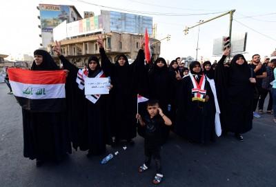伊拉克首支「全女性」警隊 鎮暴訓練畫面曝光