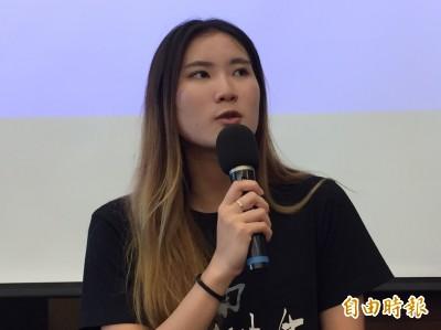 談何韻詩遭潑漆 香港女大生:革命無可懼怕
