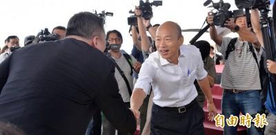 韓國瑜想出充氣皮箱、風力汽車 林濁水:非普通人水準