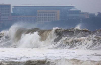 米塔颱風入夜後登陸朝鮮半島!今年7颱襲韓平60年紀錄