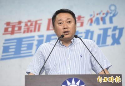 國民黨組發會主委選前被調職 吳敦義:智庫也需要人才
