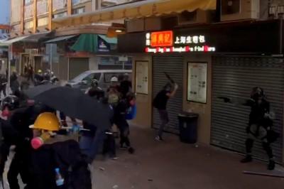 港警槍擊高中生 《紐時》影片完整還原始末曝4大關鍵