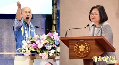 最新民調!最討厭政治人物排行...韓國瑜46.6%奪冠
