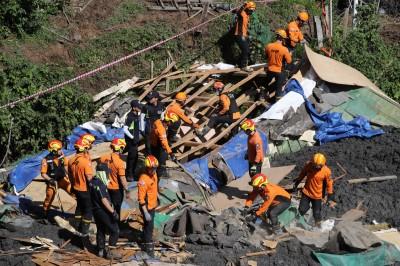 米塔颱風襲南韓已釀9死 日本高知暴雨淹大水