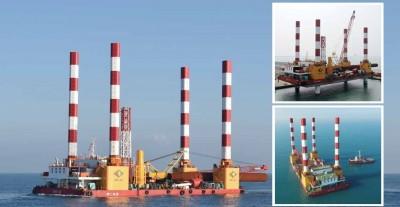拆南方澳斷橋 全國最大平台船明天上午進港