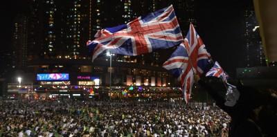 《禁蒙面法》午夜零時生效 香港獨立黨求助英國領事館
