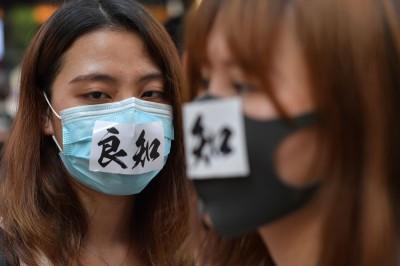 香港《禁蒙面法》如同戒嚴  汪浩:中共準備「六四屠城」?