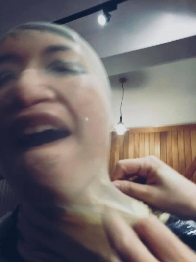 擊潰《禁蒙面法》! 網友出奇招:絲襪套頭、韓國瑜面具…