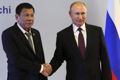 杜特蒂訪俄晤普廷 專家:俄有意插旗南海