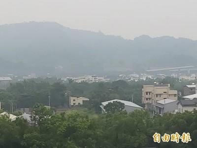 受境外污染影響 中部民眾10日前仍應注意空污
