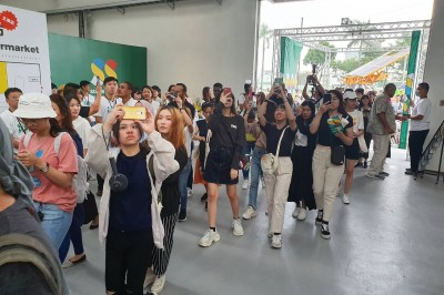 台灣設計展首日破20萬人次 便當被秒殺