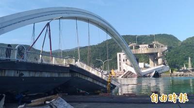 南方澳斷橋意外 蘇貞昌下午首度到宜蘭勘災