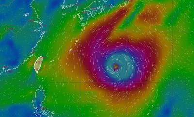 颱風未來6天恐持續增強 「哈吉貝」模擬路徑圖曝光
