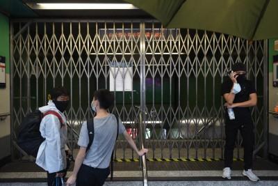 禁蒙面法使警民衝突加劇 港鐵今39個車站重開